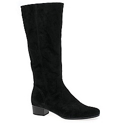 Gabor - Black 'Toye' womens long boots