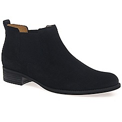 Gabor - Navy 'Zodiac' womens ankle boots