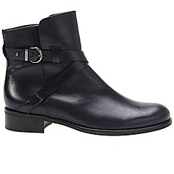 Gabor - Dark blue 'Nightingale' womens ankle boots