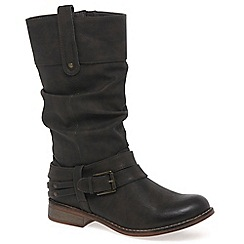 Rieker - Brown 'Study' Womens Calf Boots