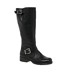 Rieker - Black 'Feline' Womens Long Boots