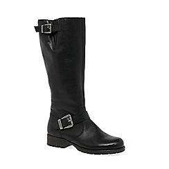 Rieker - Black 'Feline' Womens Long Boots