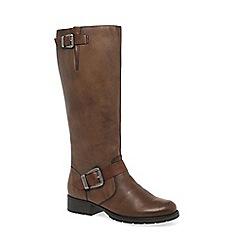 Rieker - Brown 'Feline' Womens Long Boots