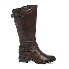 Marco Tozzi - Brown 'Francesca' Womens Knee Length Boots