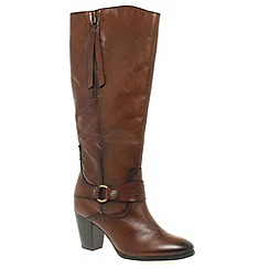 Marco Tozzi - Brown 'Harriet' Womens Long Boots