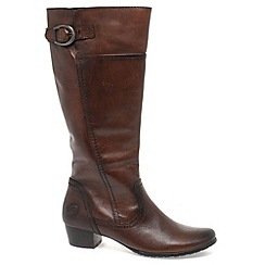 Marco Tozzi - Brown 'Jones' Womens Long Boots