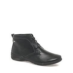 Josef Seibel - Black 'Fabienne' womens ankle boots