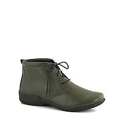 Josef Seibel - Green 'Fabienne' womens ankle boots
