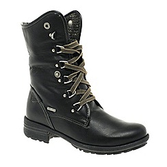Josef Seibel - Black 'Sandra' Womens Calf Length Boots