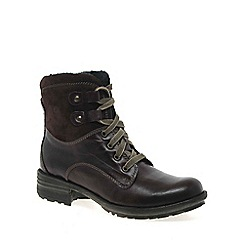 Josef Seibel - Wine 'Sue' womens lace up boots