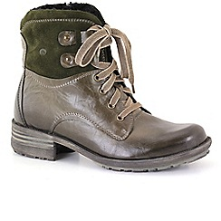 Josef Seibel - Olive 'Sue' Womens Lace Up Boots