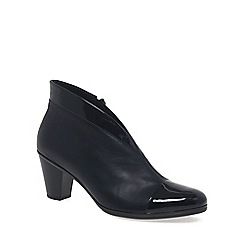 Gabor - Navy 'Enfield' Womens Ankle Boots