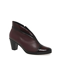 Gabor - Dark red 'Enfield' Womens Ankle Boots