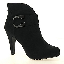 Marco Tozzi - Black 'Apple' Womens High Heeled Boots