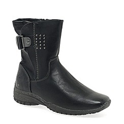 Marco Tozzi - Black 'Nelson' Womens Ankle Boots