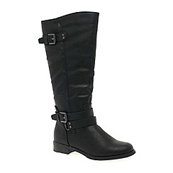 Marco Tozzi - Black 'Tyler' Womens Long Boots