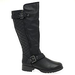Marco Tozzi - Black 'Stevens' Womens Long Boots