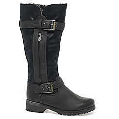 Marco Tozzi - Black 'Chapman' Womens Long Boots