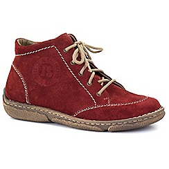 Josef Seibel - Red 'Neele 01' womens casual boots
