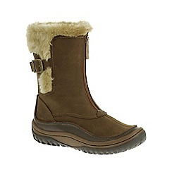 Merrell - Brown 'Decora Motif' Waterproof Womens Boots