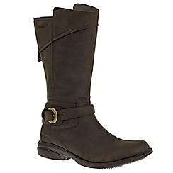 Merrell - Chocolate 'Captiva buckle' waterproof womens boots