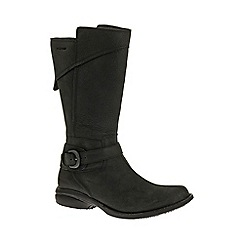 Merrell - Black 'Captiva Buckle' Waterproof Womens Boots