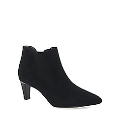 Peter Kaiser - Black 'Magda' womens black suede ankle boots