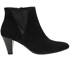Gabor - Black 'Shoop' womens dress boots