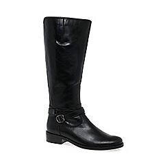 Gabor - Black 'Lucky' womens long boots