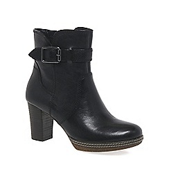 Gabor - Black 'Simmons' womens ankle boots