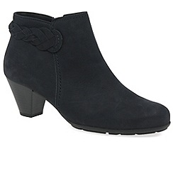 Gabor - Navy 'Portobello' womens leather ankle boots