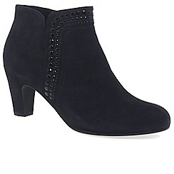 Gabor - Navy 'Provide' womens dress boots
