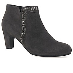 Gabor - Grey 'Provide' womens dress boots