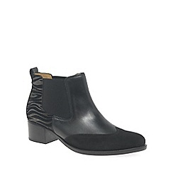 Gabor - Black 'Lumina' womens modern slip on boots