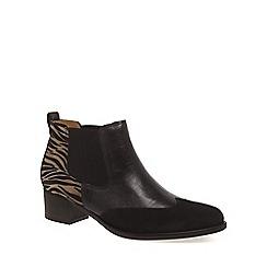 Gabor - Brown 'Lumina' womens modern slip on boots