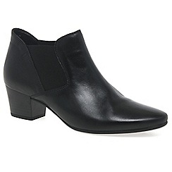 Gabor - Black 'Beatrix' Womens Modern Ankle Boots