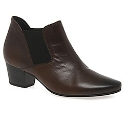 Gabor - Brown 'Beatrix' Womens Modern Ankle Boots