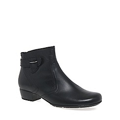 Gabor - Black 'Bea' womens classic wide fit ankle boots