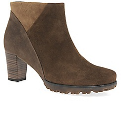Gabor - Brown 'Calista' womens ankle boots
