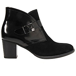 Gabor - Black 'Judge' womens ankle boots