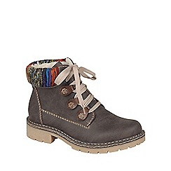 Rieker - Brown 'Jaunt' womens brown ankle boots