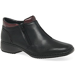 Rieker - Black 'Drizzle' womens casual ankle boots