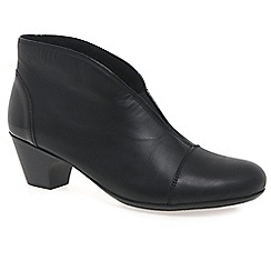 Rieker - Black 'Toulouse' womens leather ankle boots