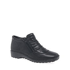 Rieker - Black 'Trinket' Womens Casual Ankle Boots