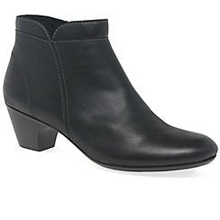 Rieker - Black 'Cruiser' womens casual ankle boots