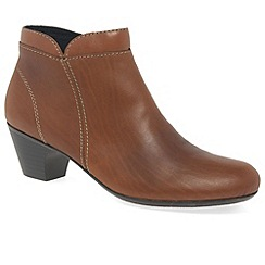 Rieker - Tan 'Cruiser' womens casual ankle boots