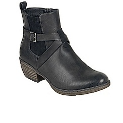 Rieker - Dark grey 'Preacher' womens casual ankle boots