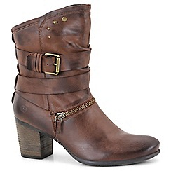 Josef Seibel - Brown 'Britney 06' womens casual boots