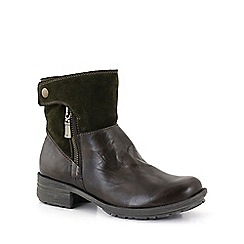 Josef Seibel - Olive 'sandra 24 zip' womens casual boots