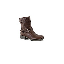 Josef Seibel - Brown 'sandra 34 triple' womens casual boots